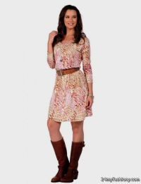 Western Dresses With Boots