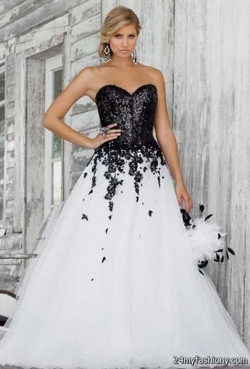 white and black quinceanera dresses 2016-2017 » B2B Fashion