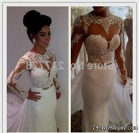 white and gold lace prom dresses 2016-2017 | B2B Fashion