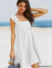 white casual beach dresses 2016-2017 | B2B Fashion