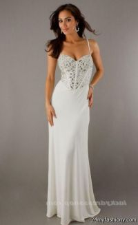 white prom dresses long 2016-2017 | B2B Fashion