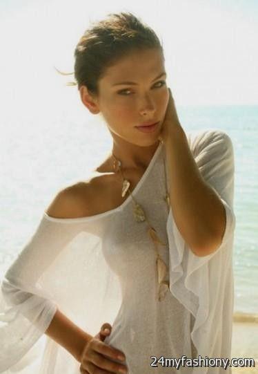 white sheer summer dresses 2016-2017 » B2B Fashion