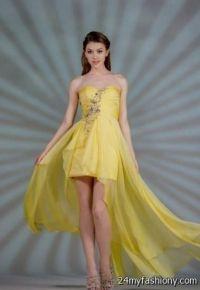 yellow and white wedding dress 2016-2017   B2B Fashion