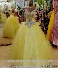 yellow and white wedding dress yellow and white wedding ...