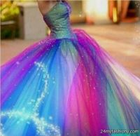 blue and purple and green quinceanera dresses 2016-2017 ...