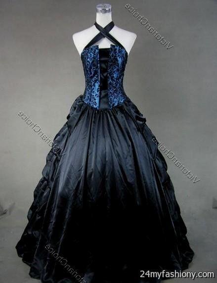 blue gothic prom dresses 20162017  B2B Fashion