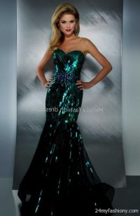 dark green sequin prom dress 2016-2017 | B2B Fashion