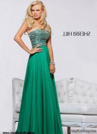 emerald green prom dresses sherri hill 2016-2017 | B2B Fashion