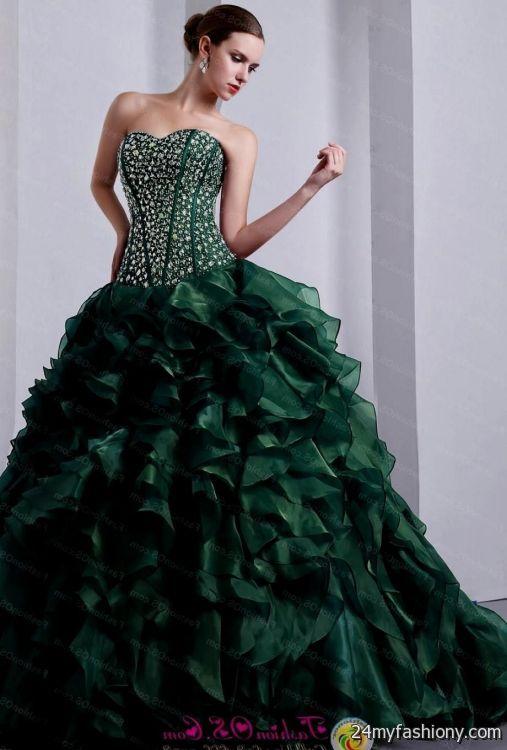 emerald green quinceanera dress 2016-2017 » B2B Fashion