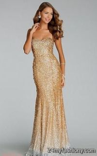 gold and silver prom dresses 2016-2017 | B2B Fashion