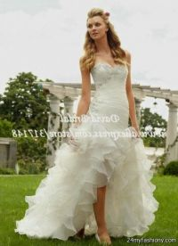 High Low Prom Dresses With Cowboy Boots
