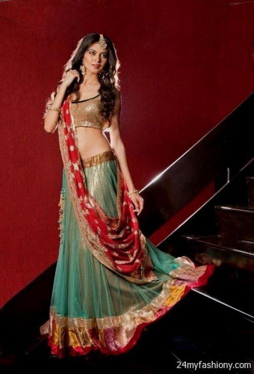 Indian evening gowns for wedding reception 2016-2017 » B2B Fashion