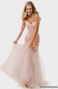 light pink mermaid prom dresses 2016-2017 | B2B Fashion