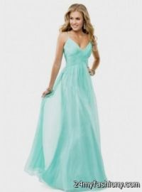light teal prom dresses with straps 2016-2017 | B2B Fashion
