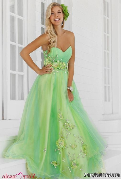 lime green bridesmaid dresses 2016