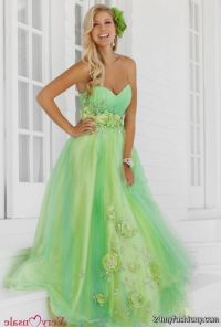 lime green bridesmaid dresses 2016