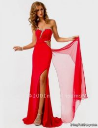 long red prom dresses with slits 2016-2017 | B2B Fashion