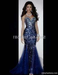 navy blue mermaid prom dress 2016-2017 | B2B Fashion