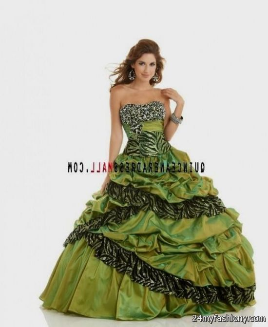 neon green zebra quinceanera dresses 2016-2017 » B2B Fashion