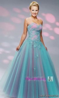 pink and blue prom dresses 2016-2017 | B2B Fashion