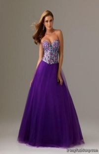 purple lace prom dress 2016-2017 | B2B Fashion