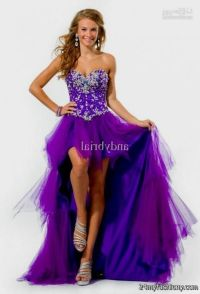 Prom Dresses Short In Front Long In Back Purple | www ...