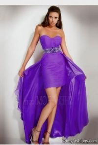 Prom Dresses Short In Front Long In Back Colorful | www ...