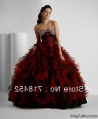 red and black quinceanera dresses 2016-2017 | B2B Fashion