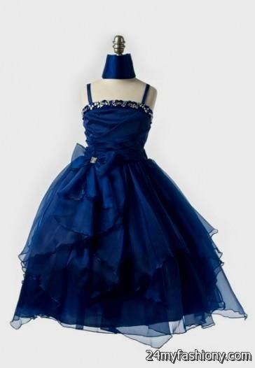 royal blue dresses for kids 2016