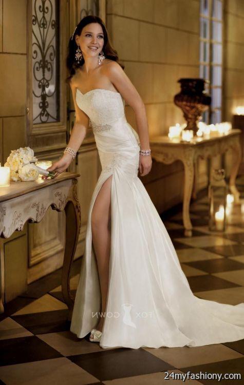 Beautiful wedding dress looks  B2B Fashion