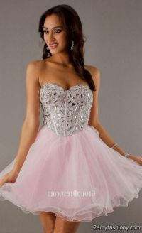 short pink sequin prom dress 2016-2017 | B2B Fashion