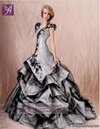 Silver And Black Wedding Dresses | www.pixshark.com ...