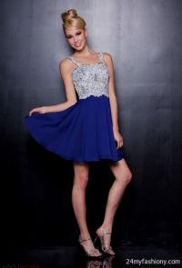 Silver Blue Bridesmaid Dresses - Wedding Dresses In Jax