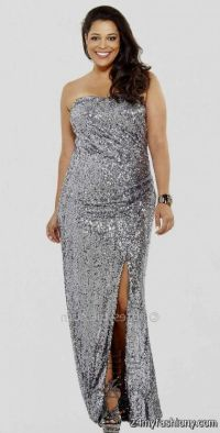 silver evening gowns plus size 2016-2017 | B2B Fashion