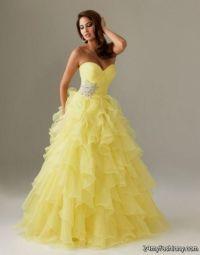 yellow and white wedding dress white and yellow wedding ...