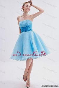 baby blue short prom dresses 2014 2016