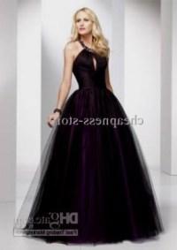 black and purple bridesmaid dresses 2016-2017 | B2B Fashion