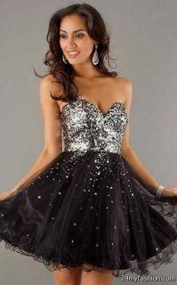 black and silver short prom dresses 2016-2017 | B2B Fashion