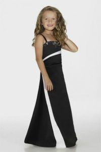 Black Junior Bridesmaid Dresses - Discount Wedding Dresses