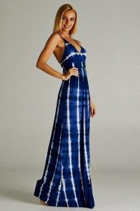 blue and white tie dye maxi dress 2016