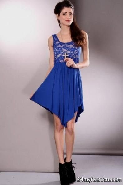 blue spring dresses for teenagers 2016-2017 » B2B Fashion