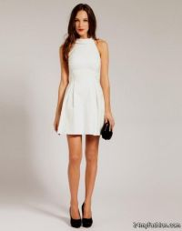 casual white dress 2016-2017 | B2B Fashion
