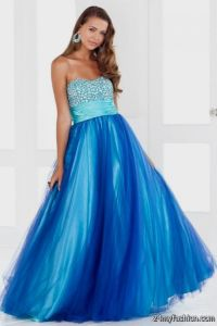 cute blue winter formal dresses 2016-2017 | B2B Fashion