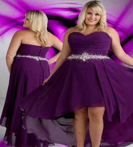 dark purple bridesmaid dresses plus size 2016