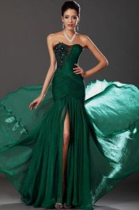 emerald green and gold prom dress 2016-2017 | B2B Fashion