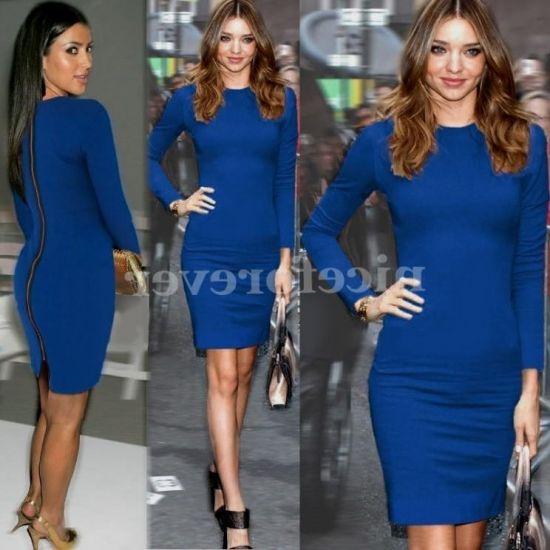fitted midi length dresses 2016-2017 » B2B Fashion