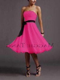 hot pink and black flower girl dresses 2016-2017 | B2B Fashion