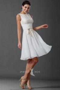 knee length white formal dresses 2016-2017 | B2B Fashion