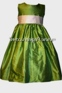 lime green flower girl dresses 2016