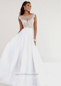 long white formal dresses for juniors 2016